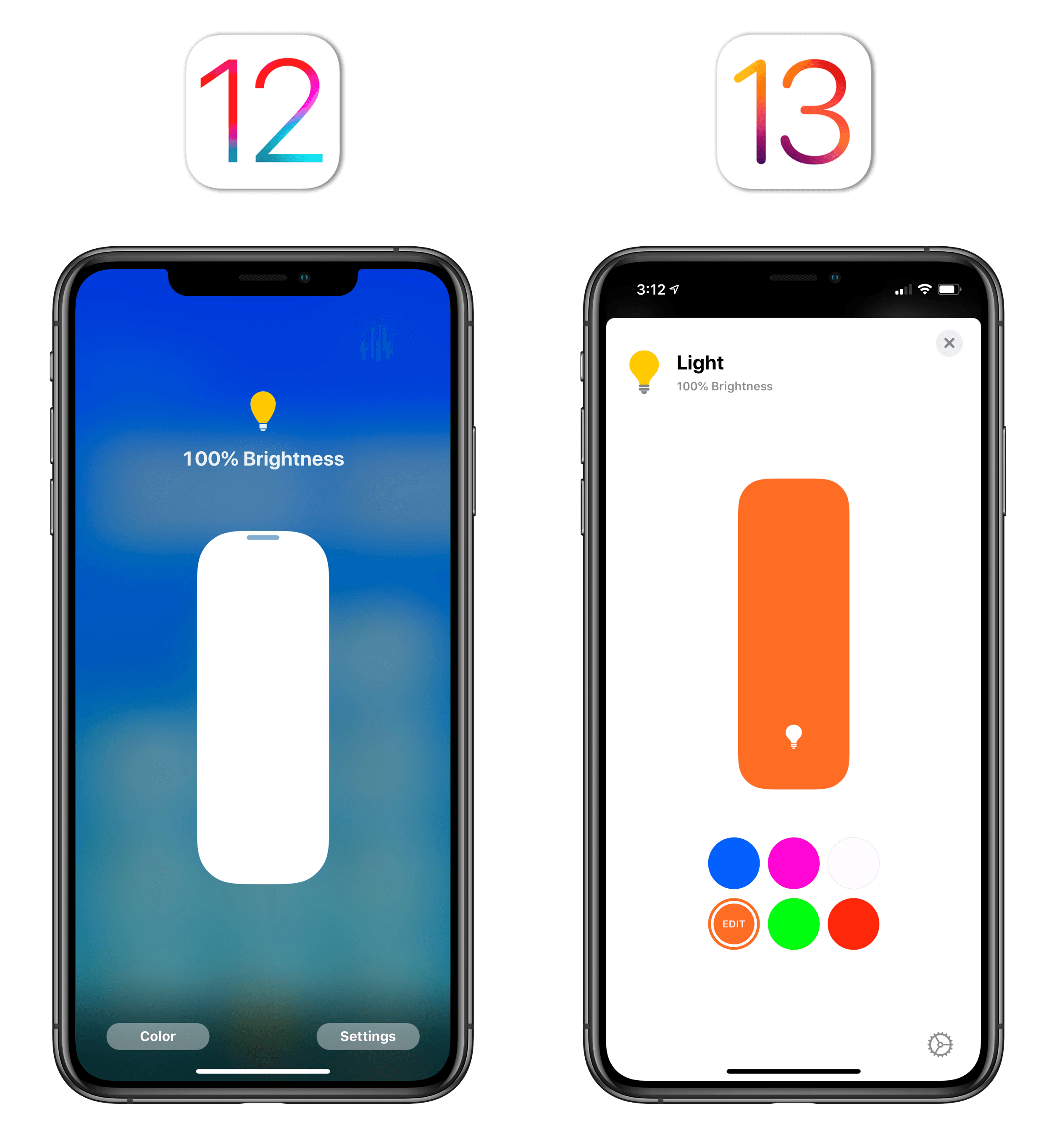 In iOS 13.1, there are also new accessory icons to choose from, which animate slightly when you interact with them. It's a nice touch.